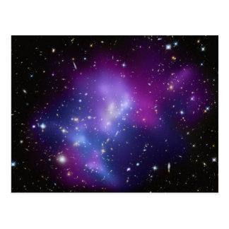 Galaxy Cluster MACS J0717 Postcard