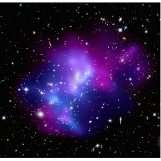Galaxy Cluster MACS J0717 Space Cut Outs