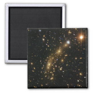 Galaxy Cluster MCS J0416.1 2403 2 Inch Square Magnet