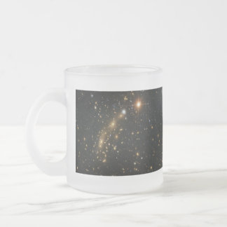 Galaxy Cluster MCS J0416.1 2403 Frosted Glass Coffee Mug