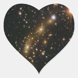 Galaxy Cluster MCS J0416.1 2403 Heart Sticker