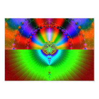 Galaxy Collision Fractal Card