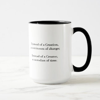 Galaxy Collision Mug with Quote