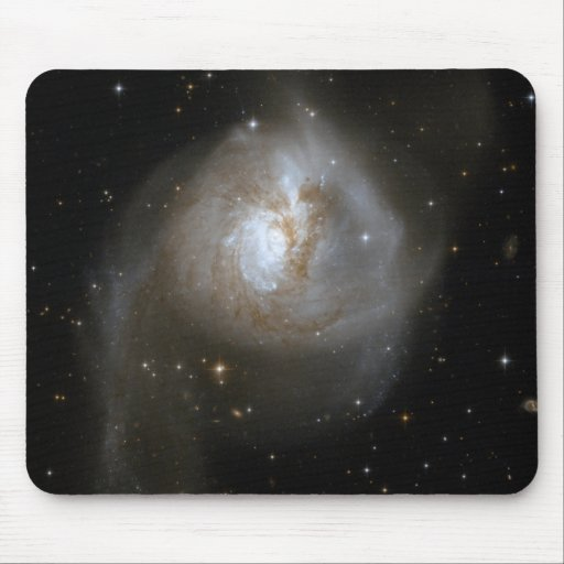 Galaxy Collition Mouse Pad