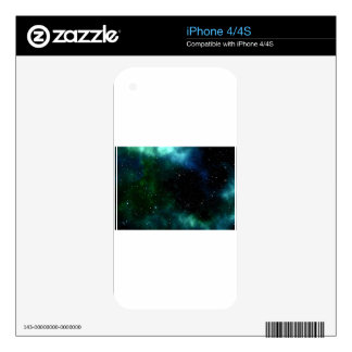 galaxy cosmos stars skins for iPhone 4
