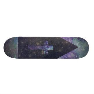 Galaxy Cross Skateboard! Skateboard Deck