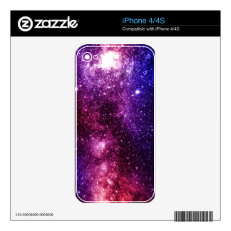 Galaxy Decal For The iPhone 4S