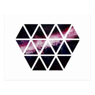 Galaxy Diamond Postcard