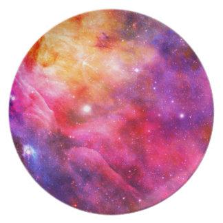 Galaxy Dinner Plate