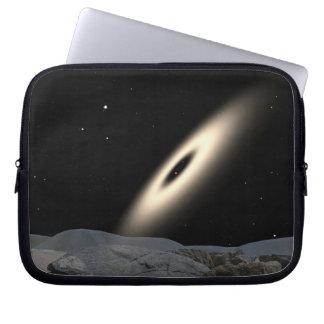 Galaxy Disk Around Red Dward Stars Laptop Sleeve