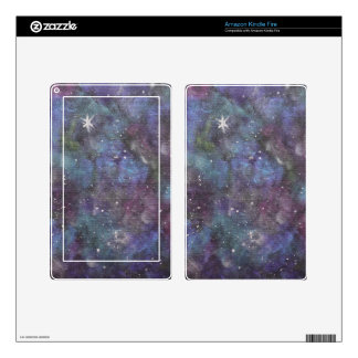 Galaxy Dreams- original abstraction style painting Kindle Fire Skins