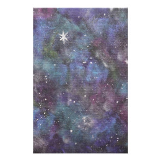 Galaxy Dreams- original abstraction style painting Stationery