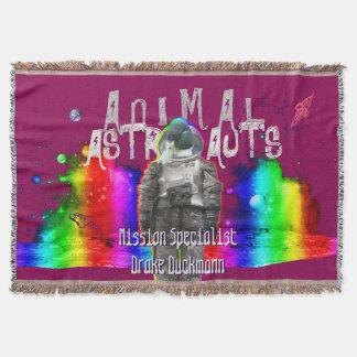 Galaxy Duck Animal Astronauts Throw