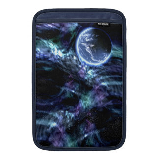 Galaxy Earth Outer-Space  Mac Book Sleeve