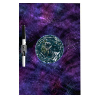 Galaxy Explorer. Space Exploration. Futuristic Dry Erase Whiteboards