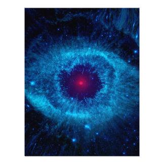 Galaxy Eye Personalized Letterhead
