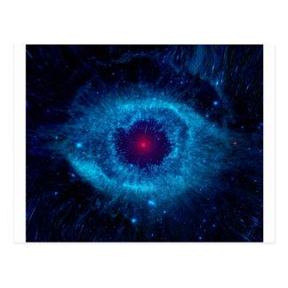 Galaxy Eye Postcard