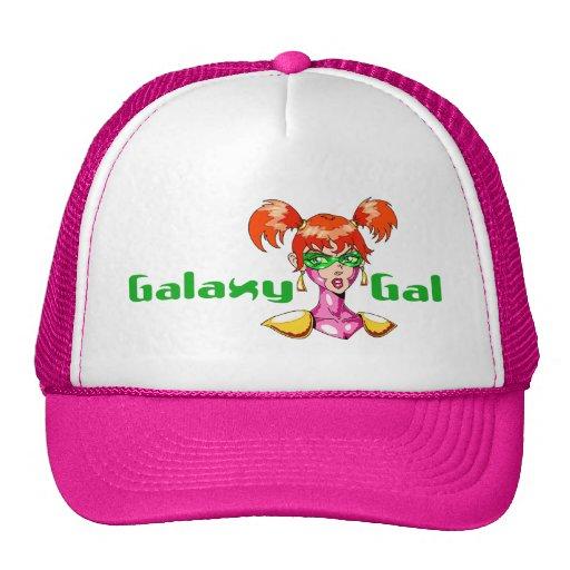Galaxy Gal Trucker Hat