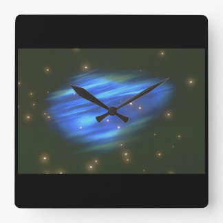 Galaxy. (galaxy;space;stars;close-up;_Space Scenes Square Wall Clock