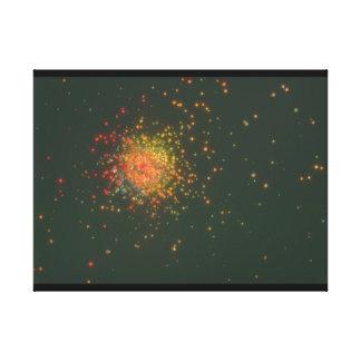 Galaxy. (galaxy;space;stars;dark;_Space Scenes Canvas Print