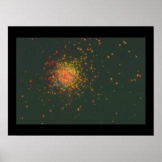 Galaxy. (galaxy;space;stars;dark;_Space Scenes Poster