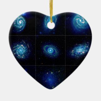 Galaxy Gallery - Nine Spectacular Galaxies Ornaments