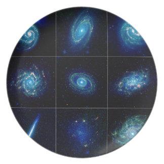 Galaxy Gallery - Nine Spectacular Galaxies Plates