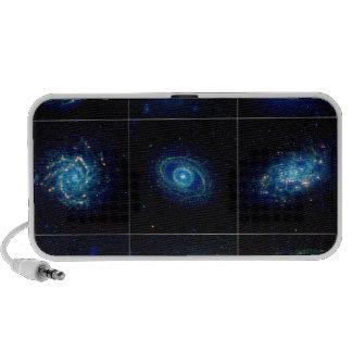 Galaxy Gallery - Nine Spectacular Galaxies Laptop Speakers