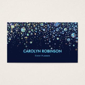 Galaxy Glitter Artwork Business Card