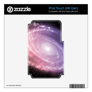 Galaxy Gradient Space Art Decals For iPod Touch 4G