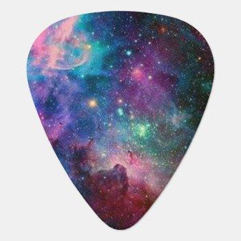 Galaxy Guitar Picks by destinys at Zazzle