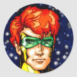 Galaxy Guru Round Sticker
