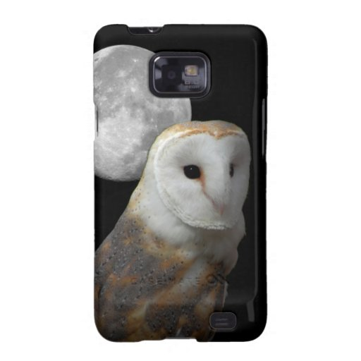 Galaxy hard case featuring Barn Owl Galaxy S2 Cover