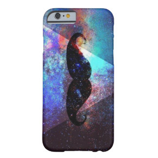 galaxy hipster mustache barely there iPhone 6 case