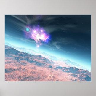 Galaxy Horizon Print