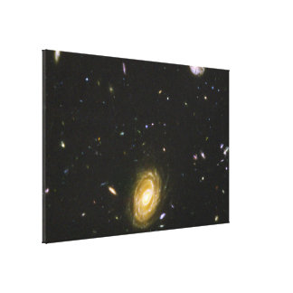 Galaxy HUDF-JD2 From the Hubble Ultra Deep Field Canvas Print