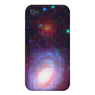 Galaxy HUDF-JD2 in Visible and Infrared Light iPhone 4/4S Case