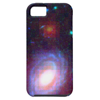 Galaxy HUDF-JD2 in Visible and Infrared Light iPhone SE/5/5s Case