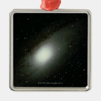 Galaxy in Andromeda Metal Ornament