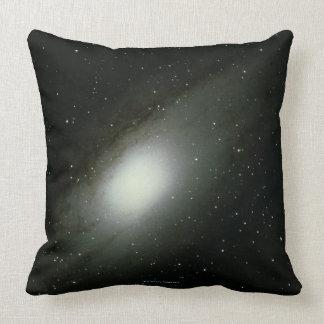 Galaxy in Andromeda Pillows