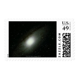 Galaxy in Andromeda Postage Stamps