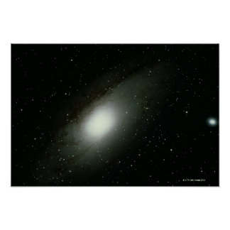 Galaxy in Andromeda Poster