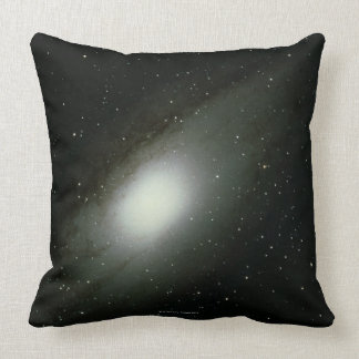 Galaxy in Andromeda Throw Pillow