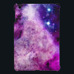 "Galaxy iPad Mini Case Stars Nebula Purple<br><div class=""desc"">Our extremely popular purple and pink galaxy design is now available on a Case Savvy iPad Mini Case! Unique designer print in on trend colours showing outer space photo of galaxy, nebula and stars. Anyone will be proud to rock this intergalactic planetary iPad mini cover, and it makes a great...</div>"