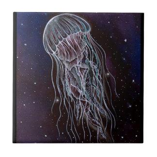 Galaxy Jellyfish Tile