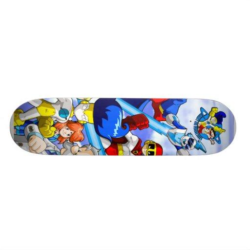 Galaxy Kid Hero Skateboard