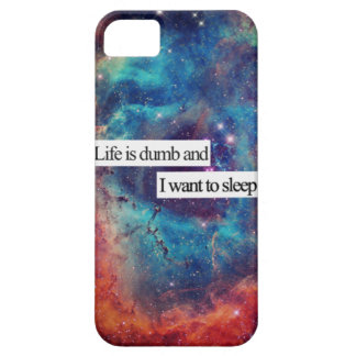 Galaxy Life is dumb and i want to sleep iPhone SE/5/5s Case