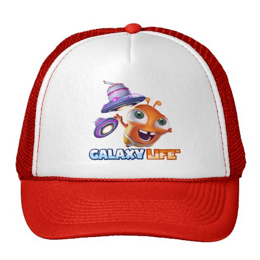 Galaxy Life Logo Cap Trucker Hats