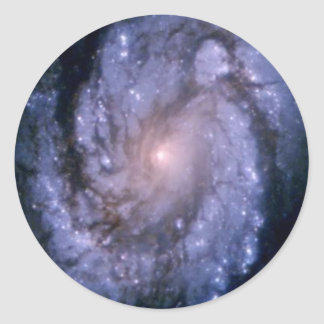 Galaxy M100 Classic Round Sticker