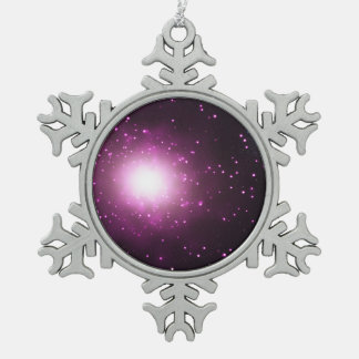 Galaxy M60 and M60-UCD1 (Non-annotated) Snowflake Pewter Christmas Ornament